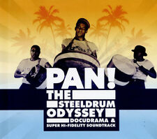 Pan! The Steeldrum Odyssey CD Album with DVD 2 discs (2017) ***NEW***