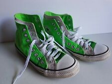 Converse Running Shoes Lime Green Size 7 Chuck Taylor Sneakers