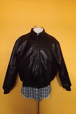 RALPH LAUREN POLO SPORT LEATHER FLIGHT BOMBER JACKET MEN M