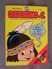 PAPERINO E C. #   4 - 26 luglio 1981 - CON INSERTO - WALT DISNEY - OTTIMO