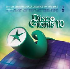 DISCO GIANTS Volume 10  (2-CD) Great 80's 12 inches   (  Cameo, Kashif, Whodini)