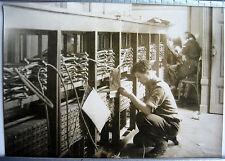 PHOTO GUERRE 39 45 CONFERENCE DE LA PAIX PARIS STANDART TELEPHONE g311