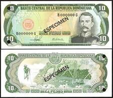 DOMINICAN REPUBLIC 20 Pesos Oro 1981 SPECIMEN UNC P 119 s1