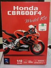 Honda CBR600F4 1:12 Scale Die-Cast Metal Model Assembly Kit Newray BNIB