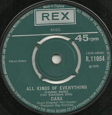 DANA - ALL KINDS OF EVERYTHING / CHANNEL BREEZE - IRISH EUROVISION ENTRY 1970