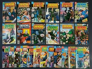 Run of (24) Unknown Soldier (1977-81) #207-256 DC Comics More Listed
