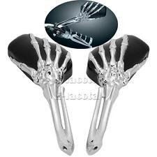 Skull motorcycle Rearview Mirrors for Honda VTX 1300 1800 TYPE C R S N RETRO