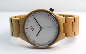 BAMBOO WATCH WOOD LINK BAND  OVERSTOCK 80% OFF