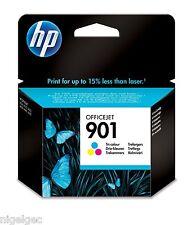 HP 901 Cartouche d'encre Couleur Originale CC656AE J4540 J4585 j4640 J4660 HP901