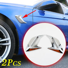 2X Universal Accessories Air Vent Inlet Decoration Parts For Car Body Side Trim