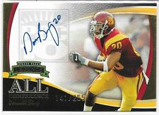 2006 PRESS PASS LEGENDS DARNELL BING ALL CONFERENCE AUTO GOLD #/255 USC TROJANS