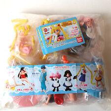 Bandai Sailor Moon World HIGF Part 5 Gashapon Figure 6 pcs set Bandai Japan