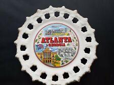 Vintage Souvenir Plate Atlanta Georgia
