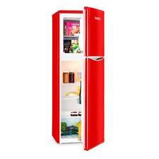 Gefrierkombination Kühlschrank Standkühlschrank Retro Rot 97L A+ Gefrierfach