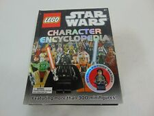 Lego Star Wars Character Encyclopedia Book exclusive with HAN SOLO MINI FIGURE