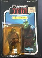 VINTAGE STAR WARS ROTJ KENNER 1983 GAMORREAN GUARD 77 BACK MOC UNPUNCHED MACAU