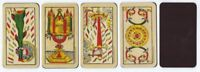 "Magnetic ""Tarot of Marseille"" Aces for Meditation Contemplation--All Four Suits!"