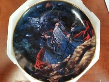 Royal Doulton Myles Pinkney Franklin Mint Dragon Star Collector Plate