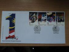 Malaysia 2010 10 Nov FDC 1 Malaysia (2nd series) Bureau Postmark Kuala Lumpur