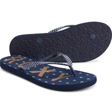 NWT Womens Roxy Simba Love V Nautical Anchor Flip-Flops Sandals Size 7/8/9/10