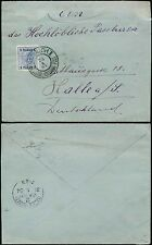AUSTRIAN LEVANT 1904 SALONICHI POSTMARK on 1pi to GERMANY