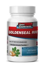 Goldenseal Root Hydrastis 520mg - Cleansing Organs and Probiotic Effect 1B