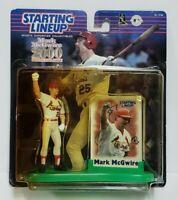 MARK MCGWIRE Cardinals Starting Lineup SLU MLB 2000 Commemorative Figure & Card