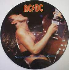 ACDC Vinyl Picture Disc That's the Way I wanna Rock n Roll Maxi Single