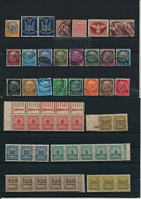 Germany, Deutsches Reich, Nazi, liquidation collection, stamps, Lot,used (TT 65)