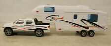 PICKUP TRUCK & 5TH WHEEL RV DIECAST TOY
