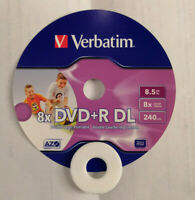 DVD+R DL 8.5 GB VERBATIM  Pz. 15 STAMPABILE
