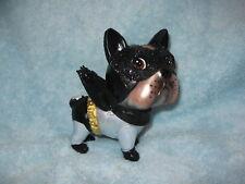 Super Hero Canine Batman Boston Terrier - French Bulldog Glass / Resin Ornament