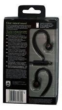 Philips SHS8205/00 In-Ear Headset mit Ohrbügel & Mikrofon Schwarz