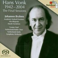 ohannes Brahms - Hans Vonk 1942 - 2004: The Final Sessions (Netherlands Ro) [CD]