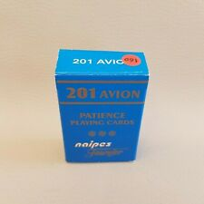 Petit jeu de cartes Patience 201 Avion Naipes Fournier 55 cartes