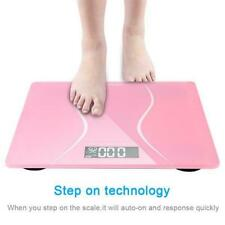 180kg Digital Electronic Scale Body Fat Bathroom Lcd Gym Weight Loss Scale Usa