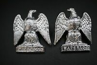"""The Royal Scots Greys"" - Anodised British Army Military Collar Badges"