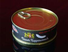 Nüsser Kappeswoosch  in der Dose 200gr Jagdwurst Art