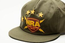 Vintage NRA snap back Trucker  hat Proud Strong United
