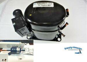 Compressor, True GDM72, Refrigeration, Tecumseh AKA4476YX, 1/2HP, R134a or R12