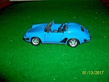 Maisto Blue Porsche 911 Speedster in 1/38 Scale