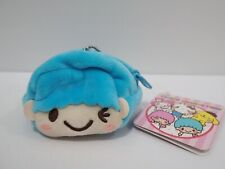 "Little Twin Stars Kiki Sanrio SEGA Zipper Bag Pouch Purse 2"" Keychain Toy Japan"