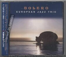 European Jazz Trio: Bolero (2008) CD OBI TAIWAN