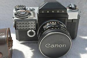 RARE Canonflex R 2000 + Canon 2000 Meter & Super Canomatic Lens
