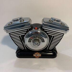 Harley Davidson Vintage Radio Engine Motor AM FM