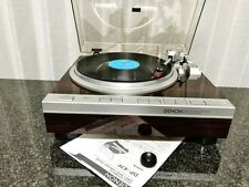 DENON DP-47F Record Player with Genuine DL-80MC Cartridge F/S