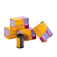 5x Kodak Portra 800 135-36 Kleinbildfilm Farbfilm 35mm