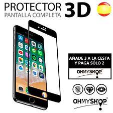 Protector Pantalla Iphone 6 6S Plus Cristal Templado 3D Dureza 9H