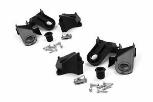 Fiat 500 Headlight Bracket Repair Kit Headlamp Mounting Lug Set Pair 07-15
