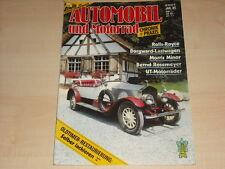 P0111) Bernd Rosemeyer - Borgward LKW Automobil Chronik 01/1985